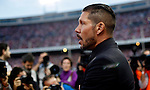 Simeone will be coach from Atletico Madrid until 2020, in the pic: Atletico de Madrid¥s coach Diego `Cholo¥ Simeone before 2014-15 La Liga match at Vicente Calderon stadium in Madrid, Spain. September 27, 2014. (ALTERPHOTOS/Victor Blanco)