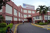 Fahcada de los Hospitales Morgan y Dario Contrera.Foto:Cesar de la Cruz.Fecha:.