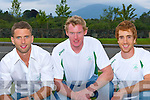 Olympic rowers Paul Griffin Sean Casey, Cathal Moynihan