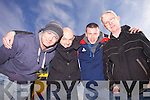 Michael Collins, Marthy Murphy, Jamie Mullane and Jack Murphy pictured last Saturday to mark International Autism Day at a fun day in Abbeyfeale Rugby Club.