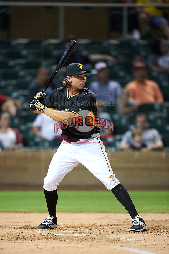Surprise Saguaros Eric Wood (12), of the Pittsburgh Pirates organization, during the Bowman Hitting Challenge on October 8, 2016 at the Salt River Fields at Talking Stick in Scottsdale, Arizona.  (Mike Janes/Four Seam Images)