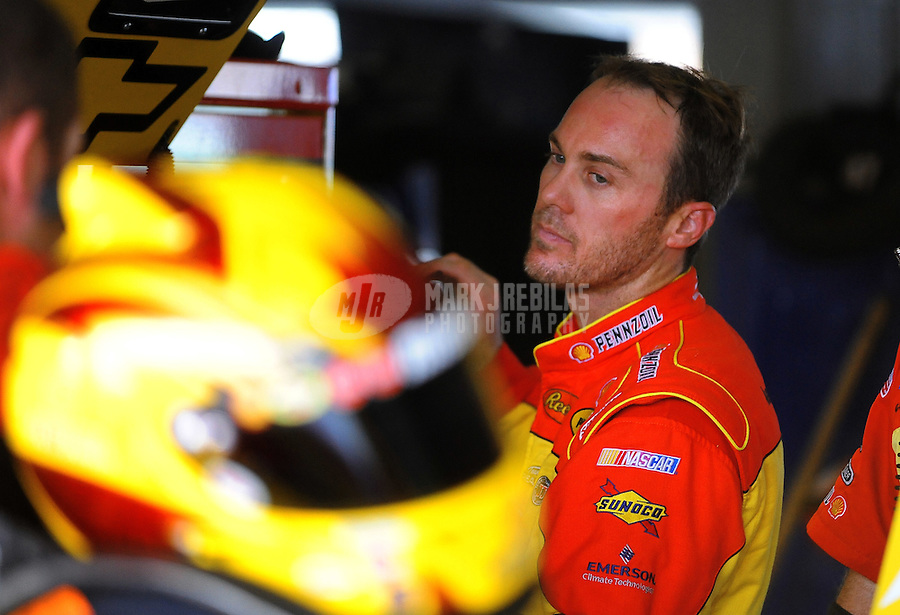 Nov. 19, 2010; Homestead, FL, USA; NASCAR Sprint Cup Series driver Kevin Harvick during practice for the Ford 400 at Homestead Miami Speedway. Mandatory Credit: Mark J. Rebilas-