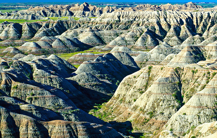 Badlands National Park. South Dakota USA