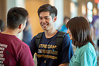 August 18, 2018; Welcome Weekend multicultural reception (Photo by Matt Cashore/University of Notre Dame)