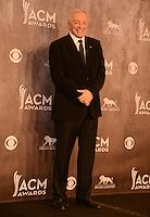 LAS VEGAS, NV - April 6: Dallas Cowboy football owner Jerry Jones at the 49th Annual Academy of Country Music Awards Press Room at the MGM Grand on April 6, 2014 in Las Vegas, Nevada. © Kabik/ Starlitepics