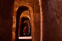 The hidden Thameewhetumin cave temple Bagan, Myanmar, Burma.