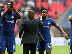 Chelsea's Michy Batsuayi breaths a sigh of relief during the premier league match at the Wembley Stadium, London. Picture date 20th August 2017. Picture credit should read: David Klein/Sportimage