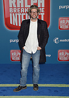 HOLLYWOOD, CA - NOVEMBER 05: Michael Giacchino attends the Premiere Of Disney's 'Ralph Breaks The Internet' at the El Capitan Theatre on November 5, 2018 in Los Angeles, California.<br /> CAP/ROT/TM<br /> &copy;TM/ROT/Capital Pictures