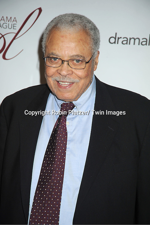 James Earl Jones attends the 78th Annual  Drama League Awards Luncheon at The Marriott Marquis Hotel in New YOrk City on May 18, 2012.