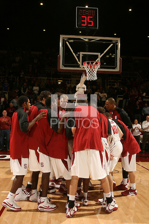 Stanford, CA - NOVEMBER 29:  Stanford Cardinal during Stanford's 76-62 win against the Colorado Buffaloes in the Big 12/Pac-10 Hardwood Series on November 29, 2008 at Maples Pavilion in Stanford, California.