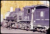 D&amp;RGW #484 at Chama<br /> D&amp;RGW  Chama, NM
