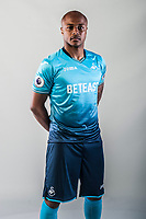Friday  15 July 2016<br />Pictured: Andre Ayew of Swansea City <br />Re: Swansea City FC  Joma Kit photographs for the 2016-2017 season