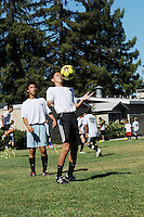 Summer Sports Camp - Soccer..Photo by Devin Nguyen