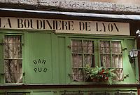 Europe/France/Rhône-Alpes/69/Rhône/Lyon: Vieux Lyon - Bouchon lyonnais rue Leynaud