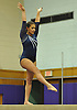 Giselle Munoz of Plainview JFK performs on the balance beam during a Nassau County varsity gymnastics meet against Massapequa at McKenna Elementary School on Monday, Feb. 1, 2016.