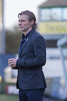 Wycombe manager Gareth Ainsworth ahead of the Sky Bet League 2 match between Plymouth Argyle and Wycombe Wanderers at Home Park, Plymouth, England on 26 December 2016. Photo by Mark  Hawkins / PRiME Media Images.