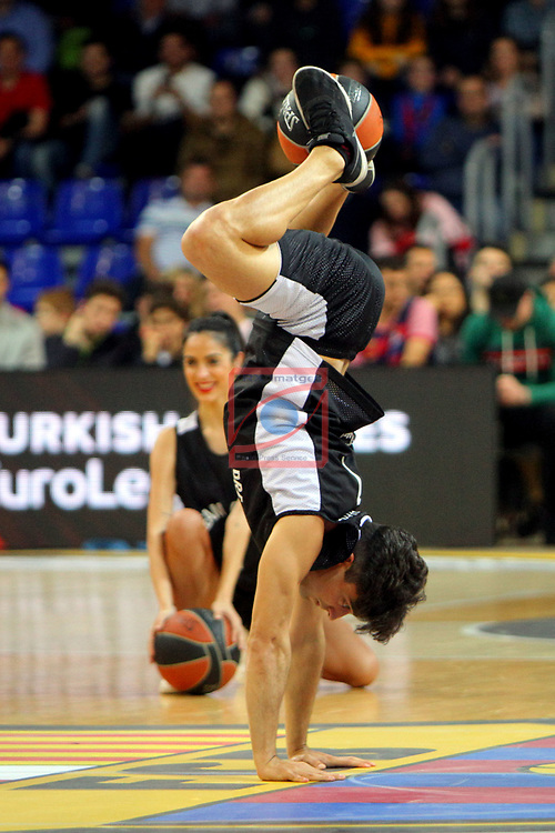 Turkish Airlines Euroleague 2018/2019. <br /> Regular Season-Round 30.<br /> FC Barcelona Lassa vs Khimki Moscow Region: 83-74. <br /> Dream Cheers.