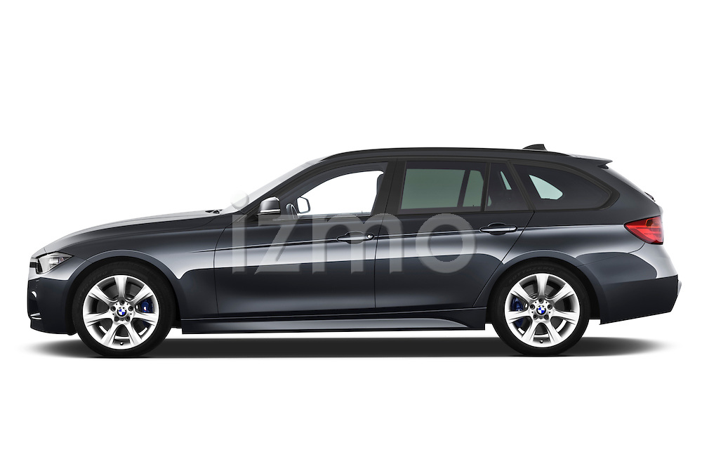 Driver side profile view of a 2013 BMW 330d Touring Wagon