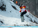 PyeongChang 12/3/2018 - Andrew Genge during the snowboard cross competition at the Jeongseon Alpine Centre during the 2018 Winter Paralympic Games in Pyeongchang, Korea. Photo: Dave Holland/Canadian Paralympic Committee