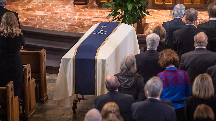 Mar. 4, 2015; Funeral Mass for President Emeritus Rev. Theodore M. Hesburgh, C.S.C. (Photo by Matt Cashore/University of Notre Dame)