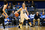 07 January 2016: Duke's Rebecca Greenwell. The Duke University Blue Devils hosted the Wake Forest University Demon Deacons at Cameron Indoor Stadium in Durham, North Carolina in a 2015-16 NCAA Division I Women's Basketball game. Duke won the game 95-68.