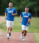 Chris Hegarty and Barrie McKay continuing their rehab at training