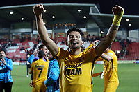 O's Macauley Bonne  at FT v  Wrexham vs Leyton Orient, Vanarama National League Football at the Racecourse Ground on 24th November 2018