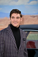 "LOS ANGELES, USA. October 08, 2019: RJ Mitte at the premiere of ""El Camino: A Breaking Bad Movie"" at the Regency Village Theatre.<br /> Picture: Paul Smith/Featureflash"