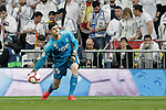 Real Madrid CF's Thibaut Courtois during La Liga match. March 02,2019. (ALTERPHOTOS/Alconada)
