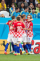 Croatia team group (CRO), JUNE 12, 2014 - Football / Soccer : Croatia players celebrate their 1st goal during the FIFA World Cup Brazil 2014 Group A match between Brazil 3-1 Croatia at Arena de Sao Paulo in Sao Paulo, Brazil. (Photo by Maurizio Borsari/AFLO)