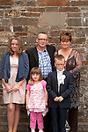 Jamie Caffrey with Mam Amanda Dad Thomas and sisters Catherine and Anna Rose<br /> Picture: Sinead O'Neill / www.newsfile.ie