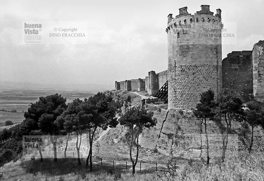 - Apulia, castle Svevo-Angioino of Lucera (Foggia)<br /> <br /> - Puglia, castello Svevo Angioino di Lucera (Foggia)