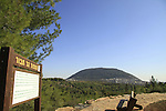 Israel, Lower Galilee, Mount Tabor lookout  by Beth Keshet scenic road