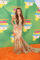 LOS ANGELES - APR 2:  Miley Cyrus arriving at the 2011 Kids Choice Awards at Galen Center, USC on April 2, 2011 in Los Angeles, CA