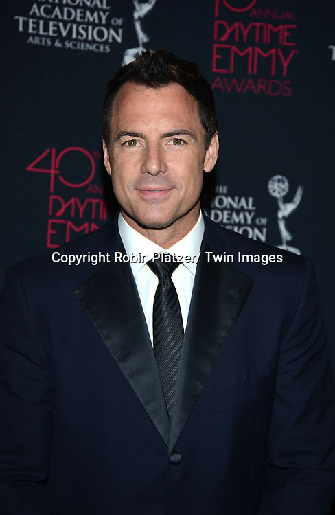 Mark Steines attends the 40th Annual Daytime Creative Arts Emmy Awards on June 14, 2013 at the Westin Bonaventure Hotel in Los Angeles, California.