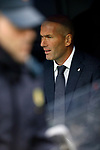 Real Madrid CF's Zinedine Zidane during La Liga match. April 21, 2019. (ALTERPHOTOS/Manu R.B.)