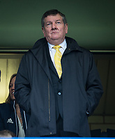 Watford Head of Operations Glyn Evans during the Premier League match between Chelsea and Watford at Stamford Bridge, London, England on 21 October 2017. Photo by Andy Rowland.