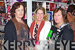 Pictured at the CH Chemist Open Evening on Friday, from left: Anne Curtin, Cathy O'Gorman and Maura Miller, all from Tralee.