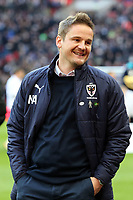 AFC Wimbledon manager Neal Ardley during Tottenham Hotspur vs AFC Wimbledon, Emirates FA Cup Football at Wembley Stadium on 7th January 2018