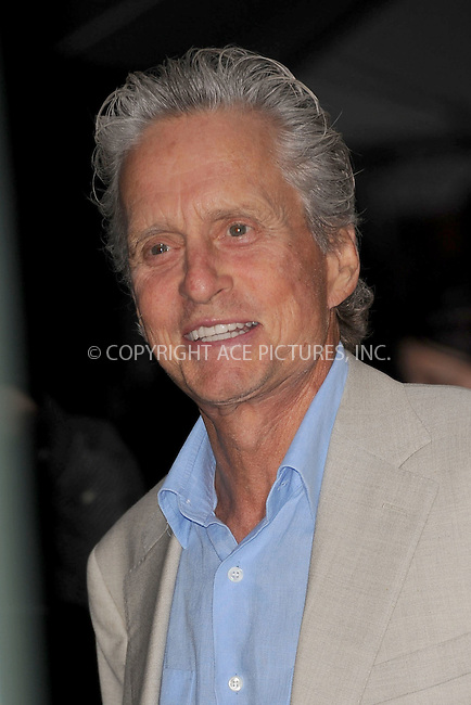 WWW.ACEPIXS.COM . . . . . .June 9, 2011...New York City...Michael Douglas enters the Stephan Weiss Studios on June 9, 2011 in New York City.  on June 9, 2011 in New York City.....Please byline: KRISTIN CALLAHAN - ACEPIXS.COM.. . . . . . ..Ace Pictures, Inc: ..tel: (212) 243 8787 or (646) 769 0430..e-mail: info@acepixs.com..web: http://www.acepixs.com .