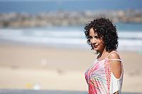 """Actress Samantha Castillo presenting """"Pelo Malo"""" film during the 61 San Sebastian Film Festival, in San Sebastian, Spain. September 21, 2013. (ALTERPHOTOS/Victor Blanco) /NortePhoto"""