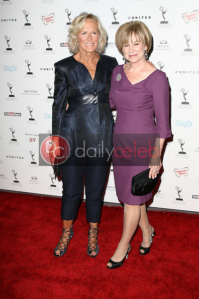 Glenn Close and Mary Kay Place<br /> at the 62nd Primetime Emmy Awards Performers Nominee Reception, Spectra by Wolfgang Puck, Pacific Design Center, West Hollywood, CA. 08-27-10<br /> David Edwards/Dailyceleb.com 818-249-4998