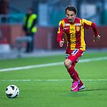Södertälje 2013-03-31 Fotboll Allsvenskan , Syrianska FC - Kalmar FF :  .Syrianska 77 Louay Chanko i aktion.( Foto: Kenta Jönsson ) Nyckelord:  porträtt portrait
