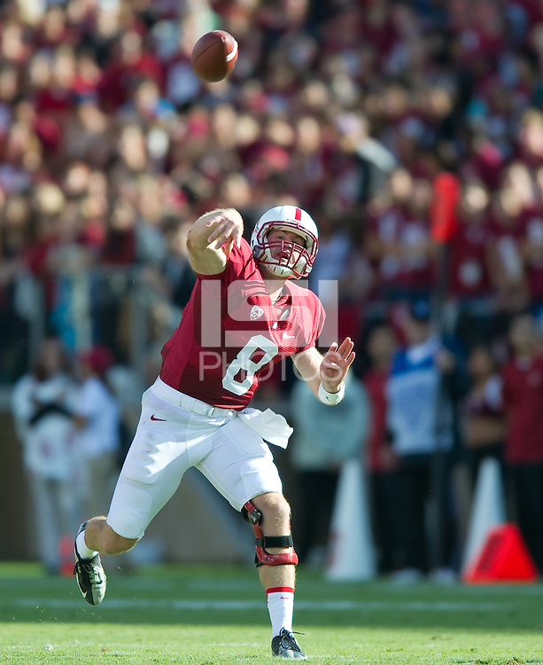 Stanford, Ca - Saturday, September 21, 2013: The Stanford  football team defeated Arizona State 42-28.