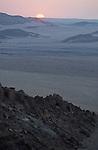 Désert du Namib. Parc national du du Namib Naukluft,  coucher de soleili. Namibie. Afrique.Namibia; Africa