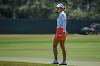 Azahara Munoz (ESP) watches her putt on 4 during round 1 of the 2019 US Women's Open, Charleston Country Club, Charleston, South Carolina,  USA. 5/30/2019.<br /> Picture: Golffile | Ken Murray<br /> <br /> All photo usage must carry mandatory copyright credit (© Golffile | Ken Murray)