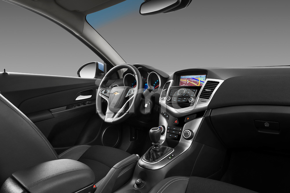 Passenger side dashboard view of a 2013 Chevrolet Cruze SW LTZ wagon