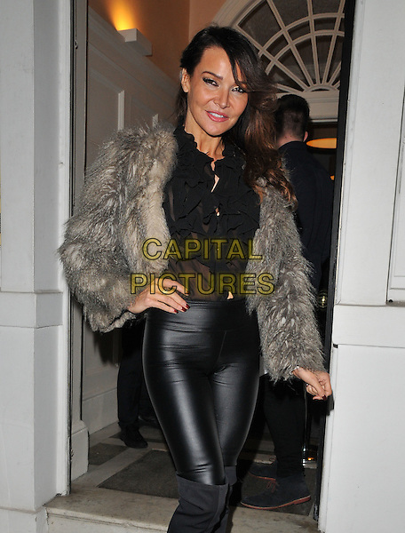 Elizabeth &quot;Lizzie&quot; Cundy attends the &quot;Perfect Eyelashes: The Ultimate Guideto Lash Extensions&quot; book launch party, Skin Associates, Wimpole Street, London, England, UK, on Thursday 26 November 2015.<br /> CAP/CAN<br /> &copy;CAN/Capital Pictures