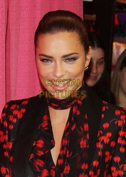 NEW YORK, NY - NOVEMBER 30: Adriana Lima unveils her Madame Tussauds Wax Figure at Victoria's Secret Herald Square Store in New York City on November 30, 2015. <br /> CAP/MPI/RW<br /> &copy;RW/MPI/Capital Pictures