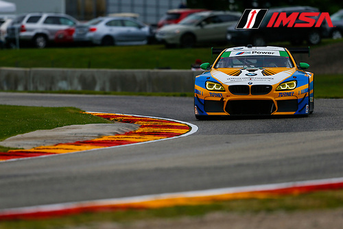 IMSA WeatherTech SportsCar Championship<br /> Continental Tire Road Race Showcase<br /> Road America, Elkhart Lake, WI USA<br /> Friday 4 August 2017<br /> 96, BMW, BMW M6 GT3, GTD, Jesse Krohn, Jens Klingmann<br /> World Copyright: Jake Galstad<br /> LAT Images